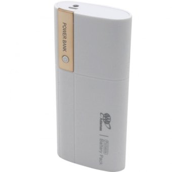 Adamas AAA 20000mah Power Bank Portable Power Battery Pack withFlashlight (White/Gold)