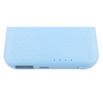 Adamas AAA 5000mah Super Thin Mobile Power Bank (Sky Blue) - 5