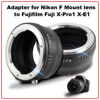 Adapter For Nikon F AI Lens to Fujifilm Fuji FX Mount X-E1 X-E2X-T1 X-M1