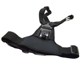 Adjustable Elastic Body Harness Chest Strap Mount Band Belt for GoPro Hero 4 3+ SJCAM action Camera - intl - 3
