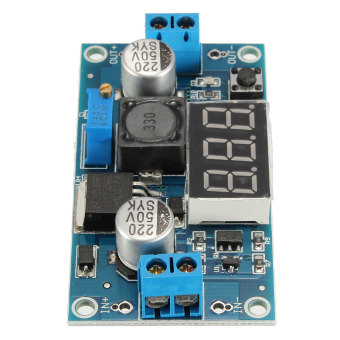 Adjustable LM2596 Step Down DC-DC Converter Power Module With Digital Display