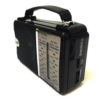 AE-201 Portable Multi Function Radio (Black) - picture 2