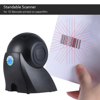 Aibecy Omni-directional 20 Lines 1D USB Orbit Barcode Scanner Reader Auto Scanning 1800t/s Speed 30? Adjustable Head - 2