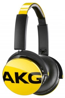 AKG Y50  Over-the-Ear Headphones (Yellow)
