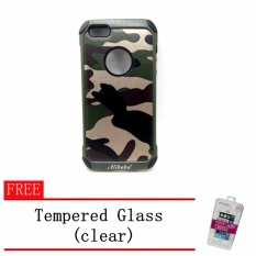 Alibaba Armor Defender Synthetic Leather Case Camouflage Design For Iphone6 Plus/6S Plus With Tempered