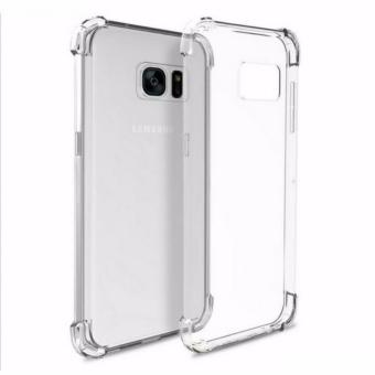 Alibaba Shock-proof Back Case for Samsung J7 Prime (Transparent)