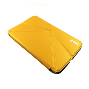 Alibaba Ultra Thin Smart Case for samsung Galaxy Tab 3-7.0 (Amber)