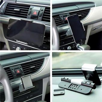 Alightstone Universal 360? Rotation CD Slot Car Phone Mount Holder (Silver) - 3