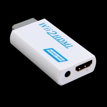 Allwin Wii To HDMI 1080P Upscaling Converter Adapter with 3.5mmAudio Output - 2