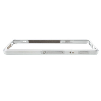 Aluminum Alloy Impact Protection Bumper Cover for Sony Xperia XA / Dual - Silver - intl - 2