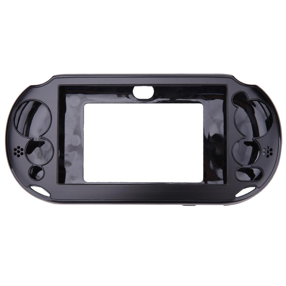 Aluminum Skin Case Cover Shell for Sony PS Vita 2000(Black) ...