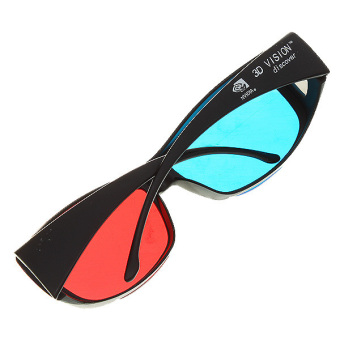 Anaglyphic Blue Red 3D Glasses (2-Pack) - 2