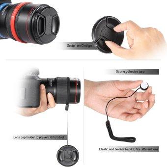 Andoer 58mm UV + CPL + FLD + Close-up(+1+2+4+10) Camera Lens FilterKit - INTL - 4