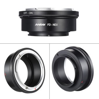 Andoer FD-NEX Adapter Ring Lens Mount for Canon FD Lens to Fit for Sony NEX E Mount Digital Camera Body Outdoorfree