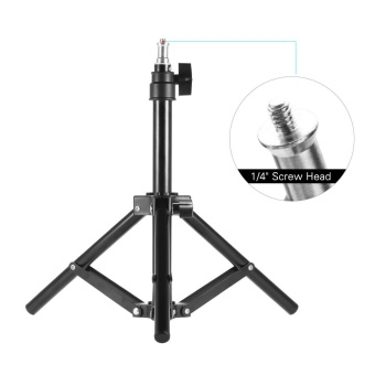 Andoer Photography Photo Studio 50cm / 20inch Aluminum Alloy Mini Light Stand Table Top Backlight Stand - intl - 2