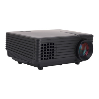 Ansee 2015 New Portable Real 1080P Lumens Mini Projector 120 Black