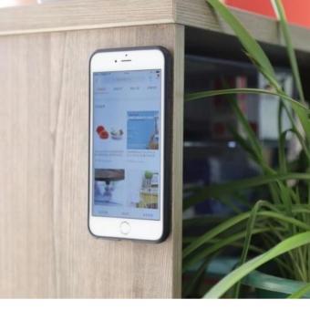 anti gravity hands free selfie video case for iphone 7 lazada ph. Black Bedroom Furniture Sets. Home Design Ideas