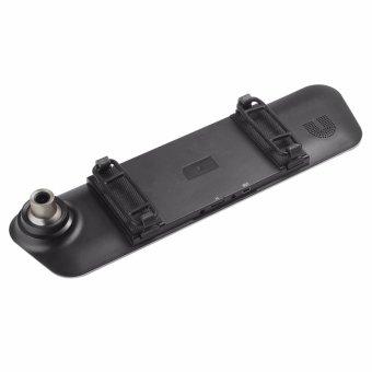 Anytek Q3D 5.0 inch HD Car Rear View Mirror Dash Camera Recorder (Silver) - 3