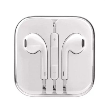 Apple 109dB Earpods with Volume Controller and Mic (White)