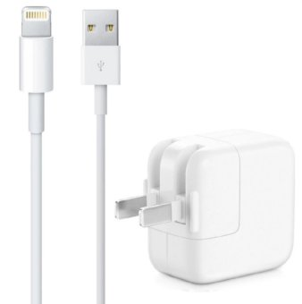 Apple 12W Charger with Lightning Cable for iPhone 5/5c/5s/iPad Air