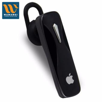 Apple Bluetooth Headset Wireless Earphones Portable HandsfreeStereo Headphones with Microphone Universal for iPhone Samsung forApple (Black) Price Philippines