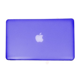 Apple Essentials Matte Hard Case for Macbook Pro 13.3 inches (Royal Blue) - 3