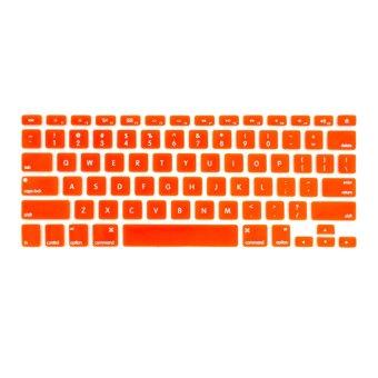 Apple Essentials Silicone Keyboard Protector for Macbook 13.3 (Orange)