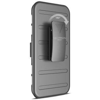 Apple iPhone 5 /5s /SE Optimus Designer (Black) Phone Case with Kickstand - 5