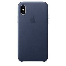 Apple iPhone X Silicone Case Midnight Blue Image