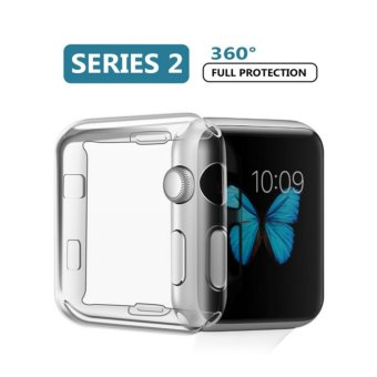 Apple Watch 2 Case,iphone Watch Hard Screen Protector Ultra ThinAll-around Cover For New i Watch Series 2 (42mm) - intl