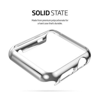 Apple Watch Series 2 Case 38mm,Full Cover Apple Watch Series 2/NikeCase Slim Hard PC Plated Protective Bumper Cover & 0.2mmShockproof Sheld Guard Screen Protector for iWatch 2016 - intl - 2