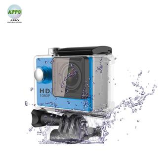 APPO A7 Ultra HD 1080P Waterproof Sports Action Camera (Blue)