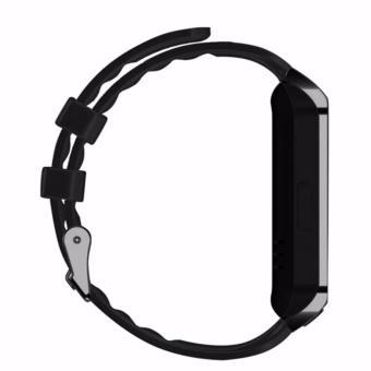 APPO DZ09 Bluetooth Phone Quad Smart Watch Touchscreen with Camera (Black) - 4