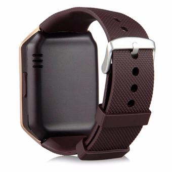 APPO M9 Bluetooth Phone Quad Smart Watch Touchscreen with Camera(Gold) - 3