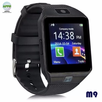 APPO M9 Bluetooth Smart Watch Touchscreen with Camera (Black)