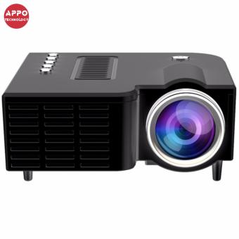 APPO UC28A 1080P Simplified Home Theater Micro LED Projector (Black) - 2