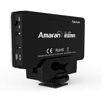 Aputure AL-M9 Portable LED Video Fill Light - Black - intl - 2