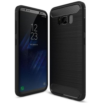 arbon Rugged Armor Cover Case for Samsung Galaxy S8 Plus (black)