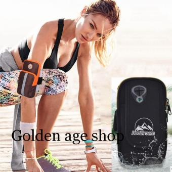 AS SEEN ON TV Arm Pouch Bag Sport Running Jogging for Mobile PhonesBLACK - 2