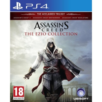 ASSASSINS CREED THE EZIO COLLECTION PS4 GAME R3,R1 MINT CONDITION