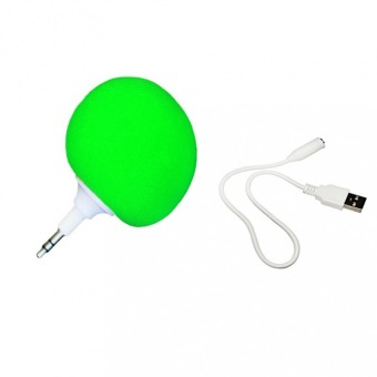 Audio Jack Speaker (Green)