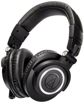 Audio-Technica ATH-M50x Professional Studio Monitor Headphones(Black) - 2