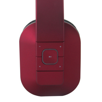 August EP650 Bluetooth Wireless Stereo Headphone Earphone with Microphone and NFC (Red) - Intl - 3