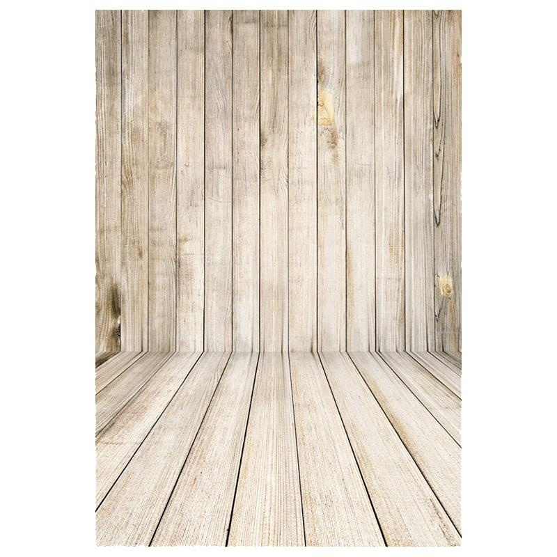 Aukey NEW 1x1.5M Wood Wall Floor Baby Photography Backdrop Photo Background Studio Props - intl