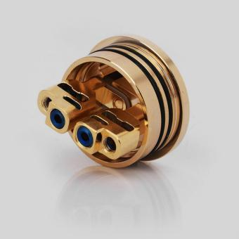 Authentic GeekVape Peerless RDA Special Edition RebuildableDripping Vape Atomizer - Gold, Stainless Steel, 24mm Diameter - 5