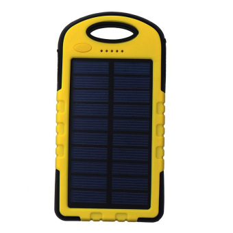 Auxis Solar Charger 108000mAh LED Power Bank with Flashlight(Yellow) Price Philippines