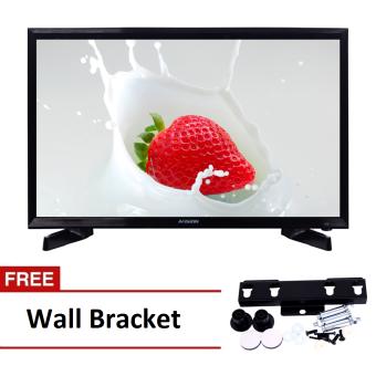 "Avision 32"" Digital LED HD TV Black 32K786D with Free Wall Bracket"