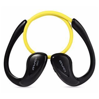 Awei A880bl Neckband NFC Bluetooth Ergonomic In-Ear Headset - 2