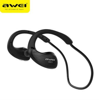 Awei A885BL Waterproof Wireless Sports Headphone (Black)