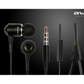 Awei ES-Q3 In-Ear Earphone Noise Isolation (Black)